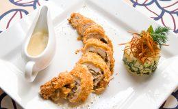 tasty gourmet foods of chicken meat
