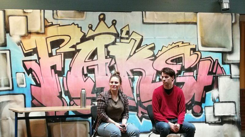 Theaterensemble Radiks zu Gast an unserer Schule